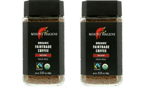Courtesy of the vendor, getty images. Mount Hagen Organic Freeze Dried Instant Coffee, 3.53 oz pack of 2 for sale online