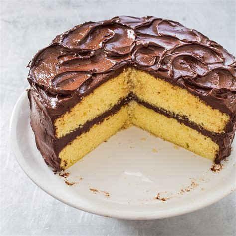 yellow cake fluffy yellow layer cake america s test kitchen