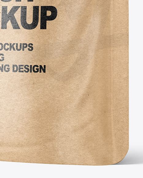 This is a free stand up pouch mockup psd for the presentation of the packaging and label design on it in a creative way. Kraft Paper Stand-up Pouch Mockup in Pouch Mockups on ...