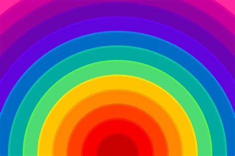illustration rainbow background colorful