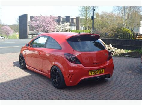 vauxhall astra vxr modified 2008 vauxhall corsa vxr 1 6 turbo carbon modified red