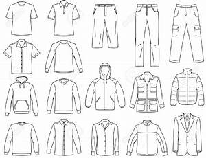 Vector Clothing Templates At Getdrawings Com