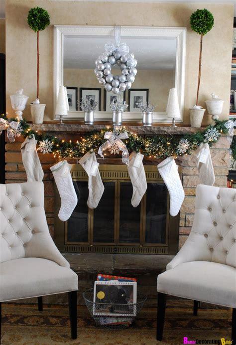 diy friday easy christmas mantel decorating