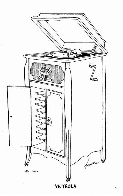 Pen Drawings Ink Record Called Player Furniture