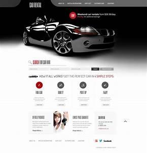 Auto Web : car rental website template 41070 ~ Gottalentnigeria.com Avis de Voitures