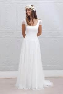 robe mariage simple 10 robes de mariée à adopter pour un look bohème chic mariage commariage