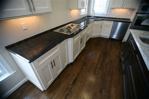 two tone kitchen antique brown granite millennium
