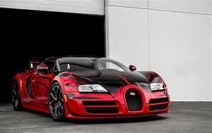 Red And Black Bugatti Wallpaper - 0425