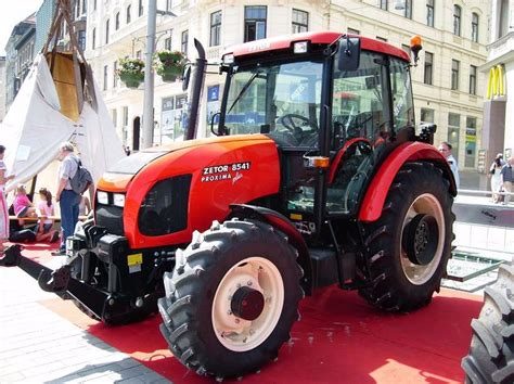 Zetor 8541 Proxima Plus  Tractor & Construction Plant
