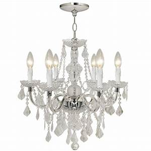 Light chandelier timeless and classic design with chrome
