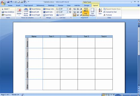 create  format tables  word  techrepublic