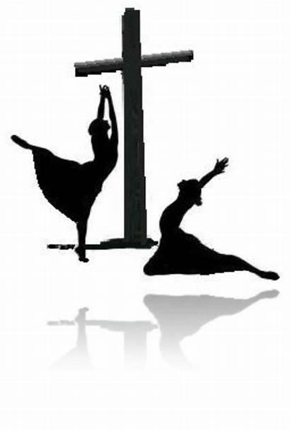 Praise Dance Worship Silhouette Dancing Spirit Clip