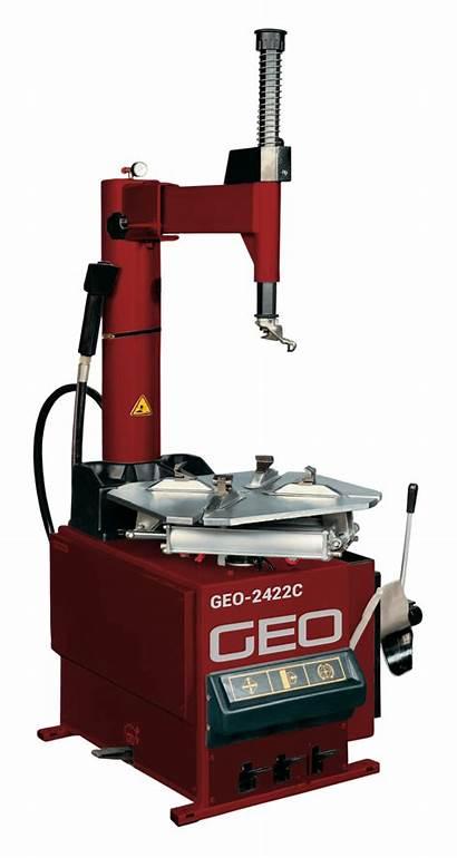 Tyre Machine Semi Changer Geo Eurotek Equipment