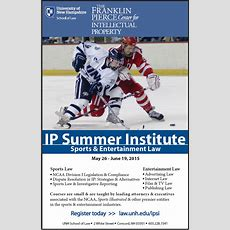 Study Sports Law And Entertainment Law At Unh Law This Summer