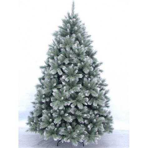 6ft frosted christmas tree new hshire pine christmas tree blue frosted 2 28m 3593