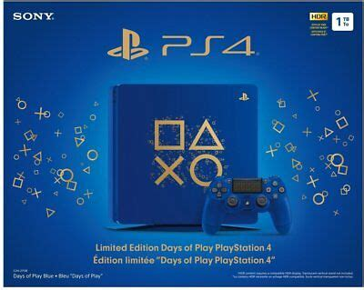 sony playstation  ps tb limited edition days  play