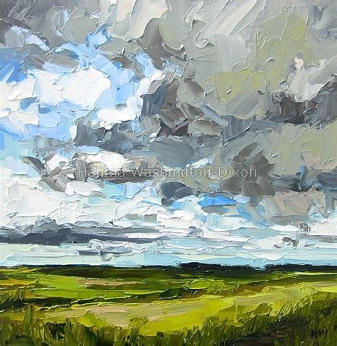 Palette Knife Painting Landscape