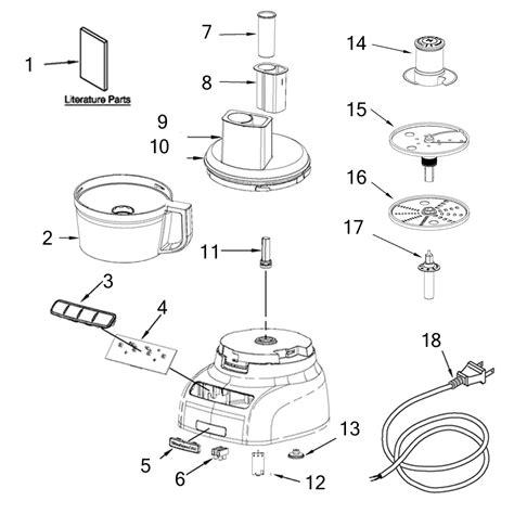 Kitchen Blender Parts by Kitchenaid Replacement Parts Evaluate Hardware