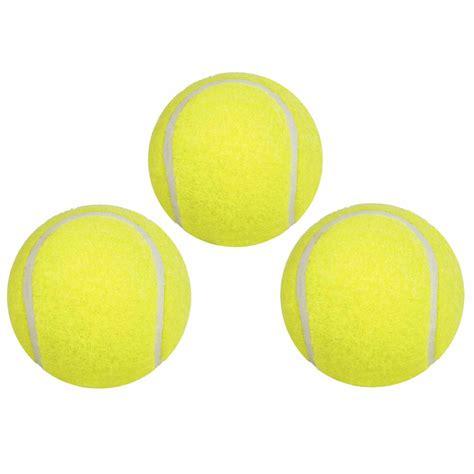 3er Pack Tennisbälle im Beutel tolle Bälle für Freizeit