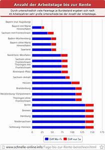 Rente Berechnen : arbeitstage bis zur rente berechnen ~ Themetempest.com Abrechnung