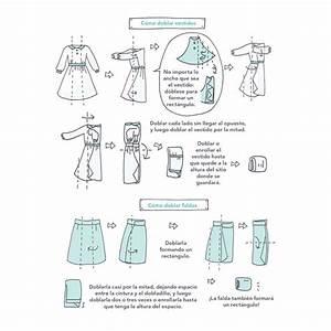 Marie Kondo Kleidung Falten : c mo doblar vestidos y faldas marie kondo hogar tips home pinterest inspiration ~ Bigdaddyawards.com Haus und Dekorationen