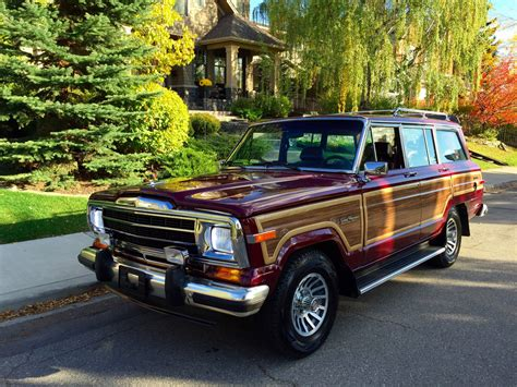 jeep grand wagoneer 1991 jeep sj grand wagoneer is up for grabs on bring a