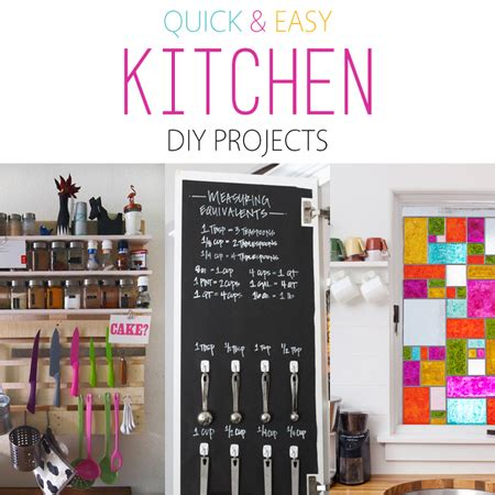 quick  easy kitchen diy projects  cottage market