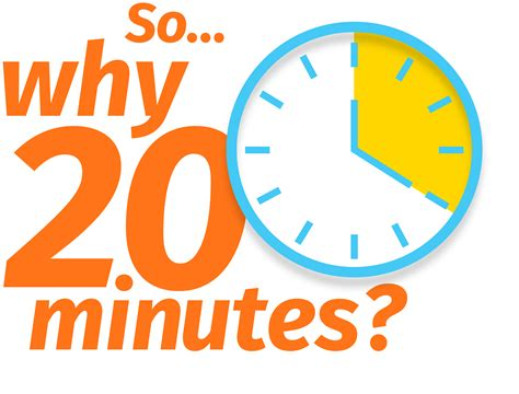 Why Walk 20 Minutes?