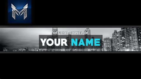 youtube banner template business