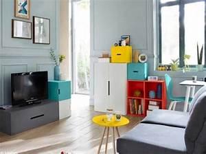 Idée Déco Petit Appartement : d couvrez ce petit appartement bien organis elle d coration ~ Zukunftsfamilie.com Idées de Décoration