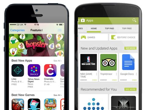 android app stores app mobile marketing
