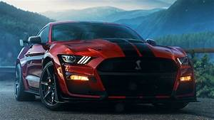 Wallpaper Ford Mustang Gt, Muscle Car, 4k