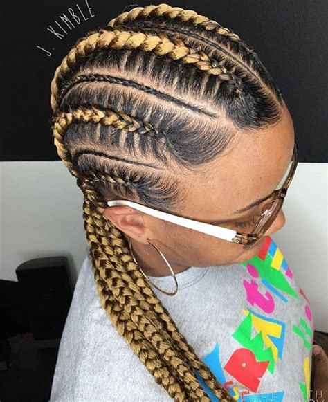Hairstyles In Braids by Clean Feed In Braids By J Kimble Http Community