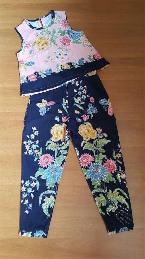 batik fashion ideas  pinterest blouse