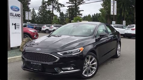 ford fusion platinum awd ecoboost leather review
