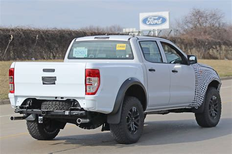 spy shots  ford ranger raptor takes   streets