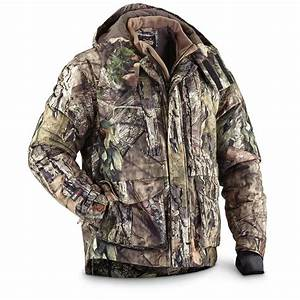 Guide Gear Men U0026 39 S Hunting Parka In Mossy Oak Break