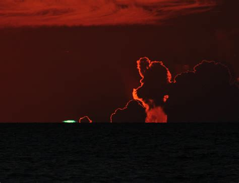 clearwater sunset green flash