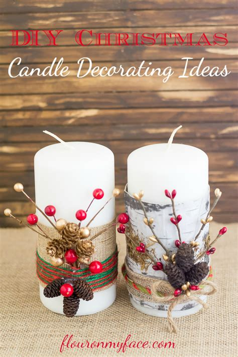 Decorating Ideas For Candles by Festive Candles