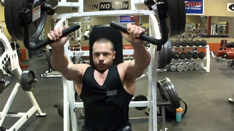 proper hammer strength incline bench press execution youtube