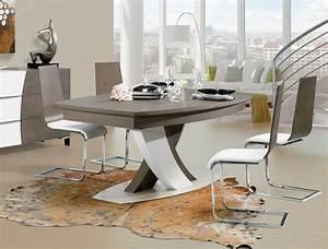 Pied Table Central : table pied central ref 20052 meubles husson ~ Edinachiropracticcenter.com Idées de Décoration