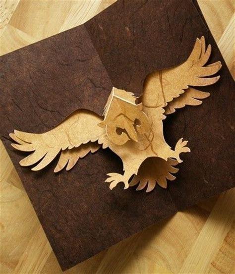 owl pop up card template kirigami owl pop up card make yourself popup card