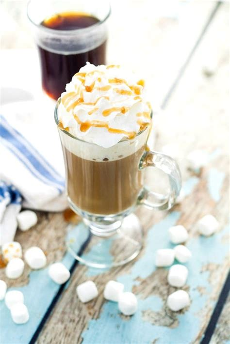 Coffee mate toasted marshmallow mocha liquid creamer has rich, warm coffee flavor with hints of sweetness, and at 16 fluid ounces per bottle, it's coffee's perfect mate. Homemade Caramel Marshmallow Coffee Creamer | The Gracious ...