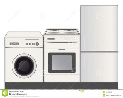 Home Appliances Symbol For Hardware Store Royalty Free