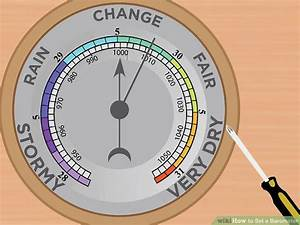 How to Set a Barometer: 12 Steps (with Pictures) - wikiHow