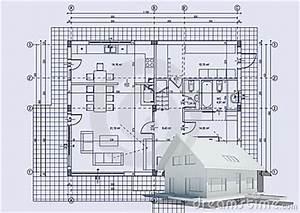 Architektur Haus Zeichnen : zeichnen mit haus 3d lizenzfreies stockbild bild 14911506 ~ Markanthonyermac.com Haus und Dekorationen