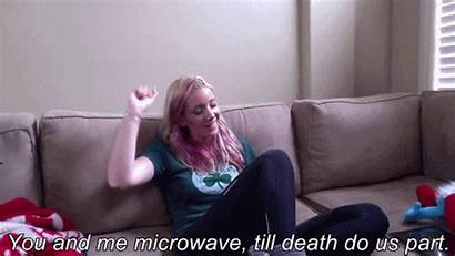 Jenna Marbles Giphy Things Microwave Play Water