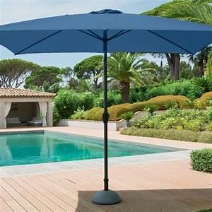 Parasol Inclinable Rectangulaire : parasol inclinable rectangulaire fidji l 3 x l 2 m orage parasol voile et paravent eminza ~ Teatrodelosmanantiales.com Idées de Décoration