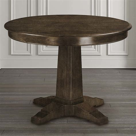pedestal dining table custom pedestal table bassett furniture