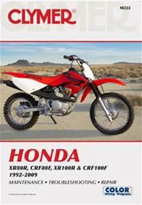 Honda Xr80r Crf80f Xr100r Crf100f 1992